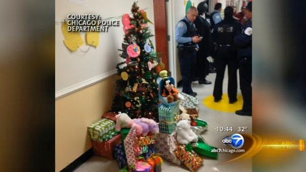 Boys who survived fire receive Christmas gifts from authorities