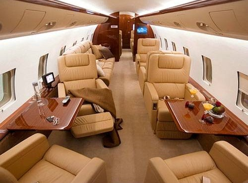 Truly Flying Beyond Inside The Private Jets Of The Rich And The Famous