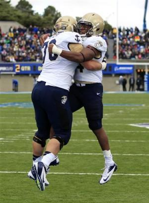Navy beats Air Force 28-21 in overtime