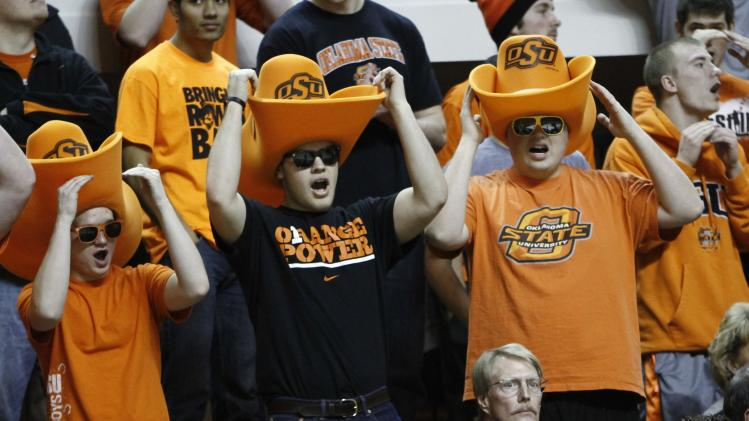 NCAA Basketball: West Virginia at Oklahoma State