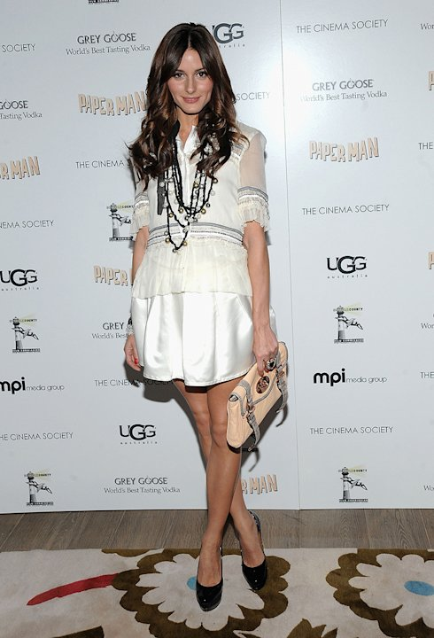 Paper Man NYC Screening 2010 Olivia Palermo