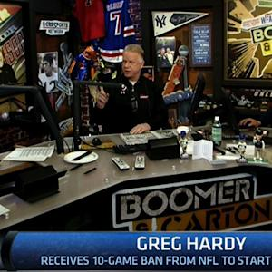 Boomer & Carton: Hardy banned for 10 games
