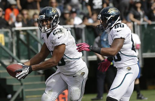 Raiders rally past Jaguars 26-23 in OT