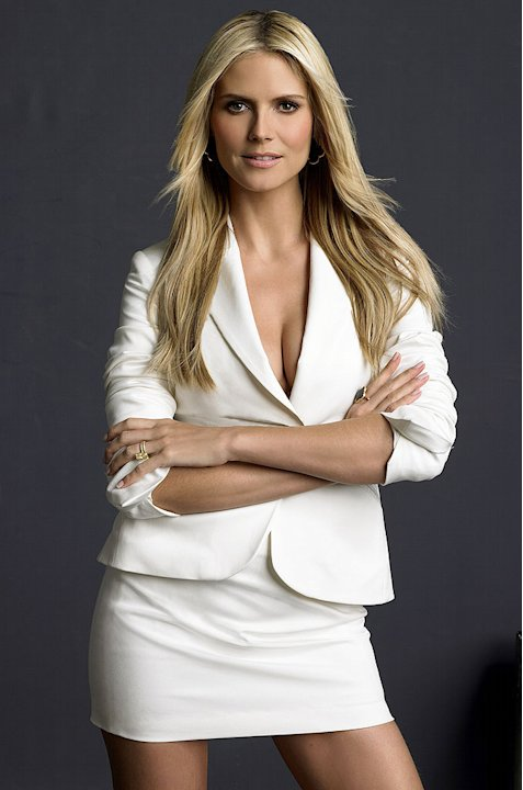 Model,Heidi Klum, hosts Bravo's Project Runway