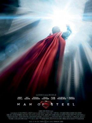 'Man of Steel' Poster: Superman Soars Past City (Photo)