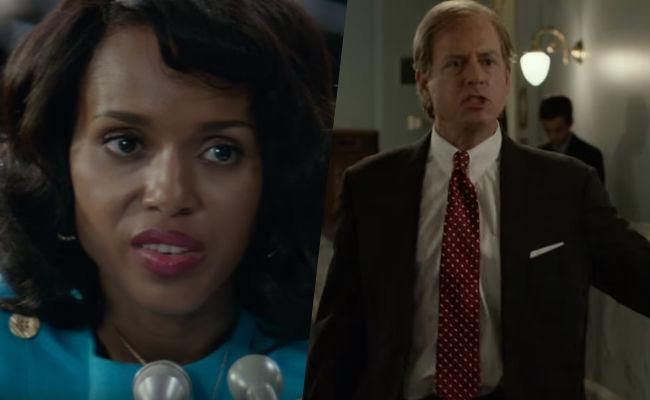 Kerry Washington Tackles The System And Greg Kinnear Sports A Bald Spot In The First 'Confirmation' Teaser