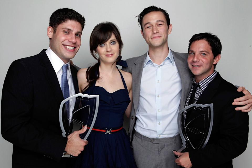 2009 Hamilton Behind The Camera awards Michael Weber Joseph Gordon Levitt Zooey Deschanel Scott Neustadter