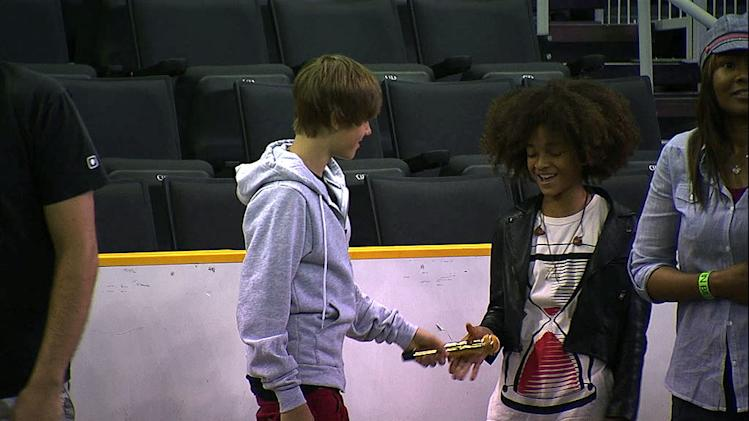 Justin Bieber Never Say Never 2011 Jaden Smith