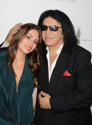 Sophie Simmons and Gene Simmons arrive at the 'Lawless' Los Angeles Premiere at ArcLight Cinemas, Los Angeles, August 22, 2012 -- Getty Images