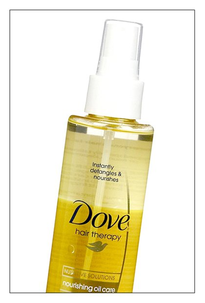 Dove Nourishing Oil Care Detangler, $5.99