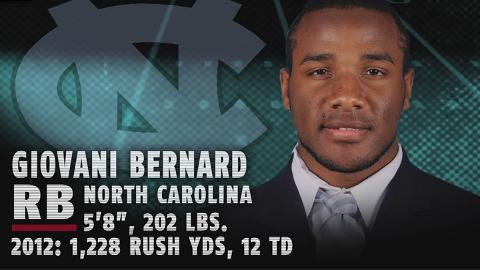 Giovani Bernard - North Carolina RB - 2013 NFL Draft Profile