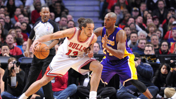 NBA: Los Angeles Lakers at Chicago Bulls