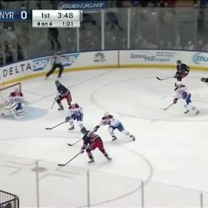 Carey Price Save on Marc Staal (16:15/1st)