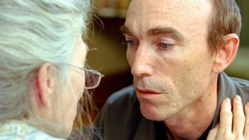 Phyllis Somerville and Jackie Earle Haley in New Line Cinema's Little Children