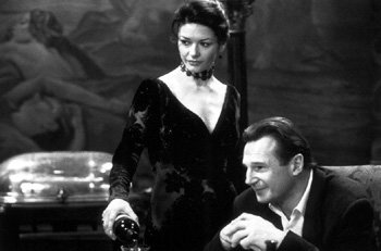 Catherine Zeta-Jones and Liam Neeson in The Haunting