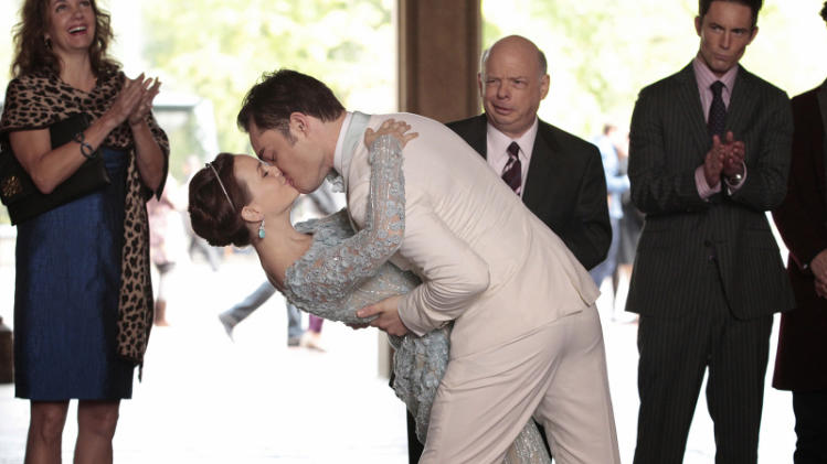 TV Weddings - Blair Waldorf and Chuck Bass: ?Gossip Girl? (2012)