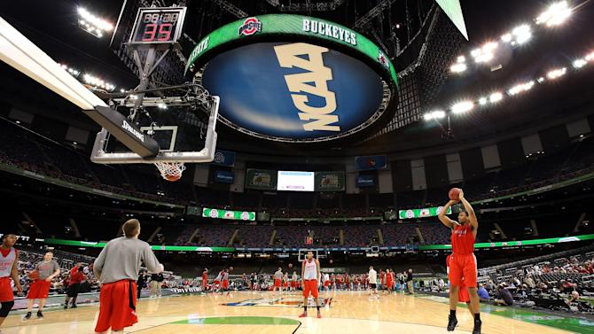 NCAA Basketball Tournament - Final Four - Practice Session