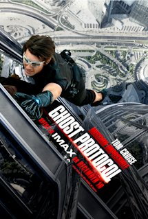 Poster of Mission: Impossible Ghost Protocol
