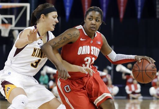 Ohio State women eliminate Minnesota, 58-47