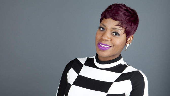 """This April 24, 2013 photo shows American R&B singer Fantasia Barrino posing for a portrait to promote her new album """"Side Effects of You,"""" in New York. (Photo by Amy Sussman/Invision/AP)"""