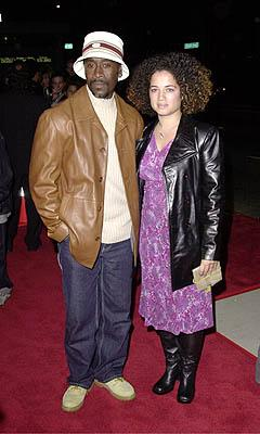 Don Cheadle with gal at the Beverly Hills premiere of USA Films' Traffic