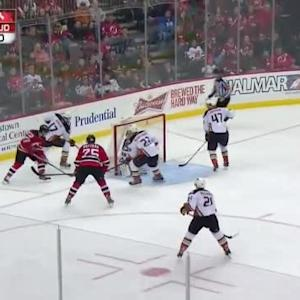 John Gibson Save on Stefan Matteau (10:43/2nd)