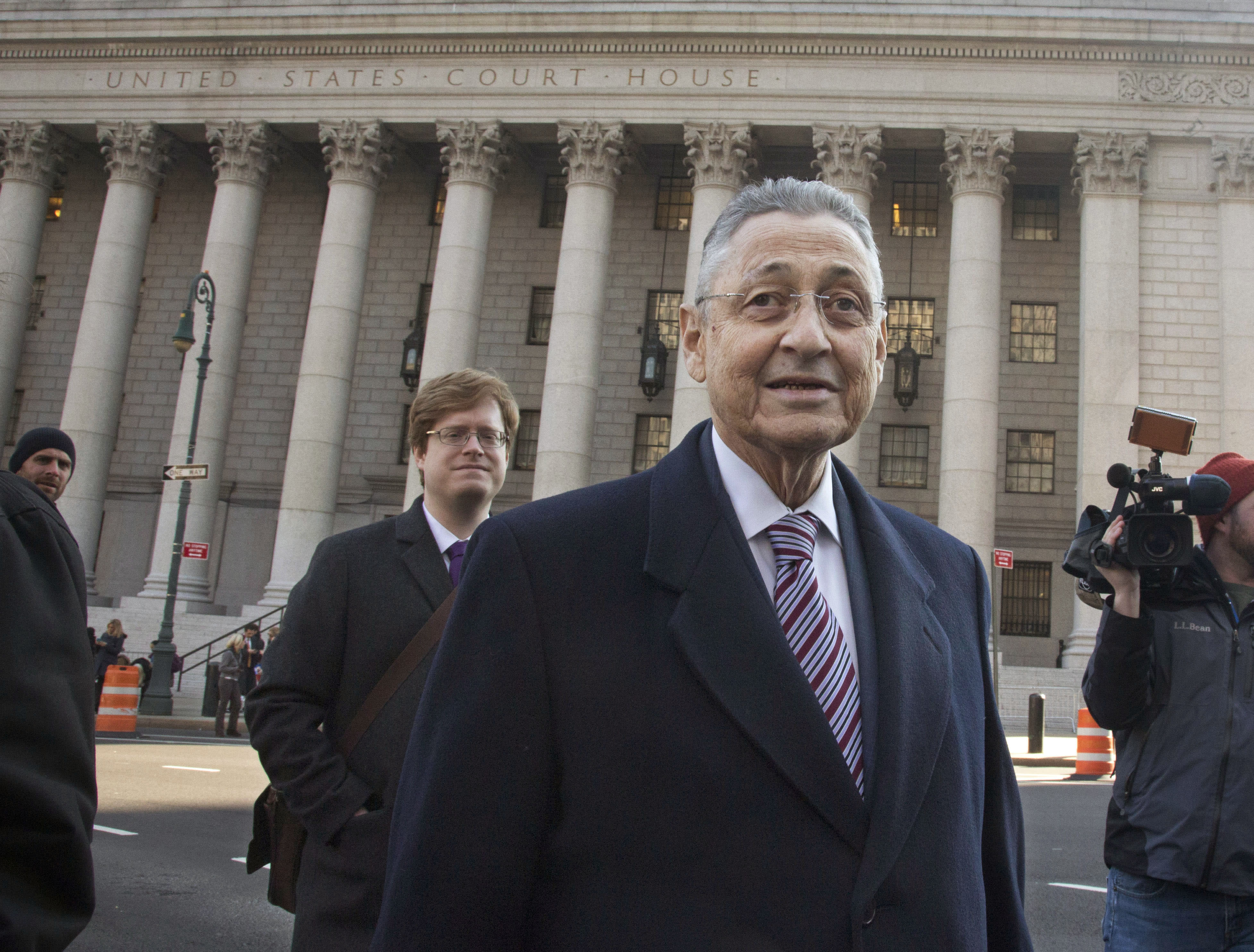 Jurors at trial of ex-NY Assembly speaker take holiday break