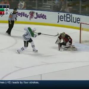 Dan Ellis Save on John Klingberg (00:00/SO)