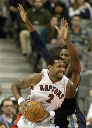 Gay scores 23 points as Grizzlies beat Raptors