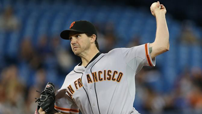 San Francisco Giants v Toronto Blue Jays