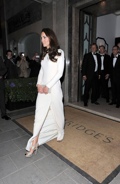 Catherine, Duchess of Cambridge aka Kate Middleton seen leaving Claridge&amp;#39;s hotel.London, England - 08.05.12Mandatory Credit: Will Alexander/WENN.com