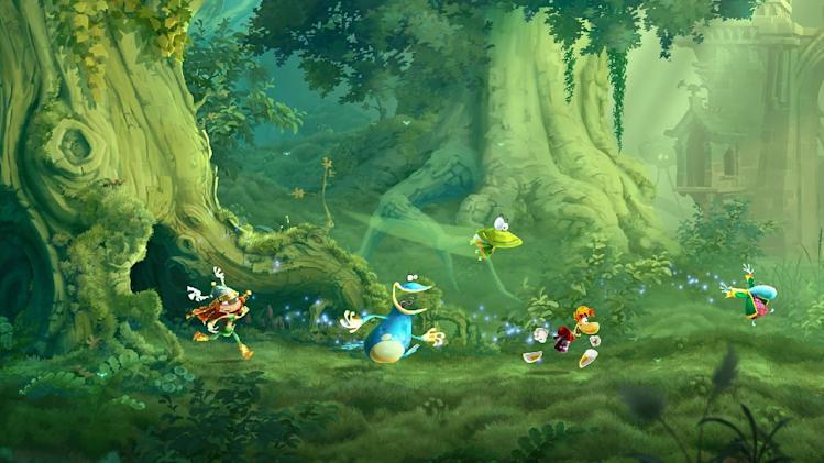 "Promotional image for ""Rayman Legends"""