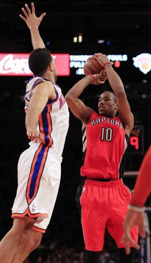 Raptors hold lead this time to beat Knicks 90-85
