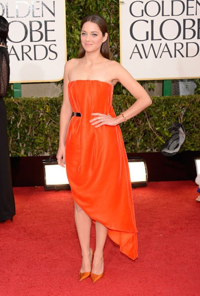 Golden Globes 2013: Marion Cotillard © Getty
