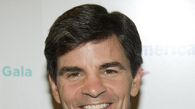 """FILE - In a Monday, Dec. 5, 2011 file photo, George Stephanopoulos attends the Baby Buggy 10th Anniversary Gala, in New York. Stephanopoulos, the co-host of ABC's """"Good Morning America"""" during the week and host of the Sunday political talk show """"This Week"""" has both shows at such competitive crossroads this spring that his bosses are reluctant to give him time off.  It's not a schedule built for the long term, but it's made him the man of the moment at ABC News.  (AP Photo/Charles Sykes, File)"""