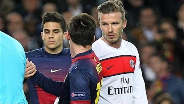 Ligue 1 - Beckham: &quot;Mi ritiro per colpa di Messi&quot;