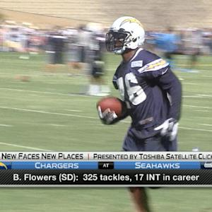 New Faces New Places: San Diego Chargers defensive back Brandon Flowers