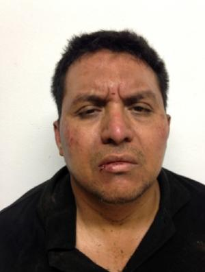 This mug shot released by Mexico's Interior Ministry on Monday, July 15, 2013, shows Zetas drug cartel leader Miguel Angel Trevino Morales after his arrest. Trevino Morales, the notoriously brutal leader of the Zetas, was captured by Mexican Marines before dawn Monday who intercepted a pickup truck with $2 million in cash on a dirt road in the countryside outside the border city of Nuevo Laredo, which has long served as their base of operations, officials announced. (AP Photo/Mexico's Interior Ministry)
