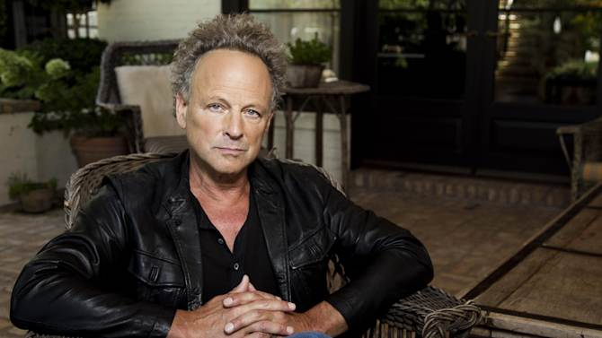 "In this Aug. 25, 2011 photo, musician Lindsey Buckingham poses for a portrait in Los Angeles. Buckingham's new album, ""Seeds We Sow"", will be released Sept. 6.  (AP Photo/Matt Sayles)"