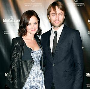 Alexis Bledel, Vincent Kartheiser Make Red Carpet Debut!