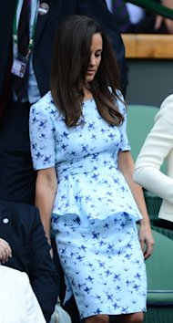 Kate Middleton In Joseph, Pippa in Project D PLUS Victoria Beckham at Wimbledon 2012