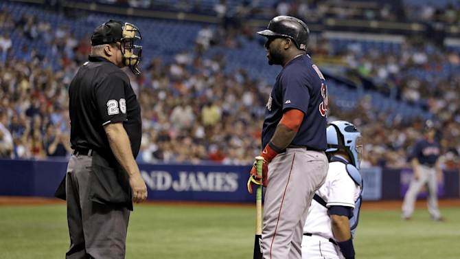 Red Sox DH Ortiz in lineup vs Price, Rays