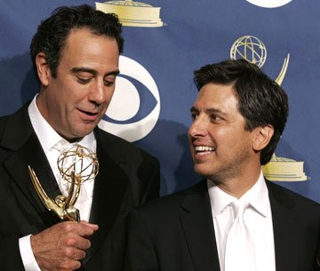Winners Brad Garrett and Ray Romano