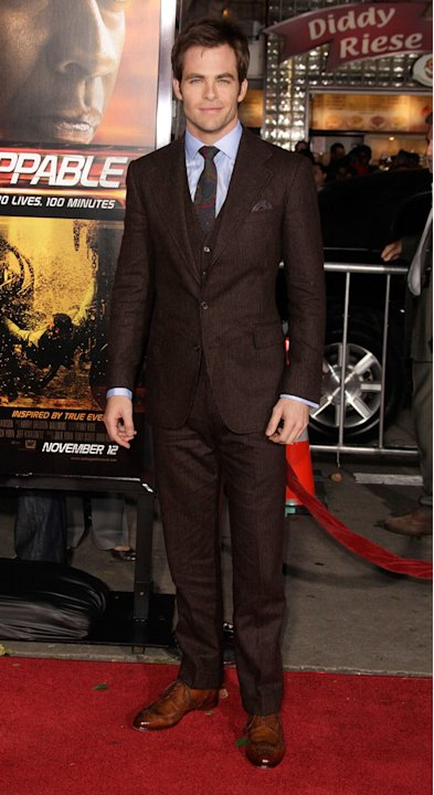 Unstoppable LA Premiere 2010 Chris Pine