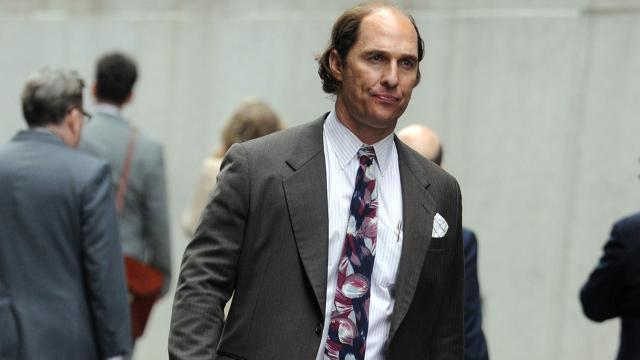 Matthew McConaughey Is Bald, Pudgy and Nearly Unrecognizable on 'Gold' Set