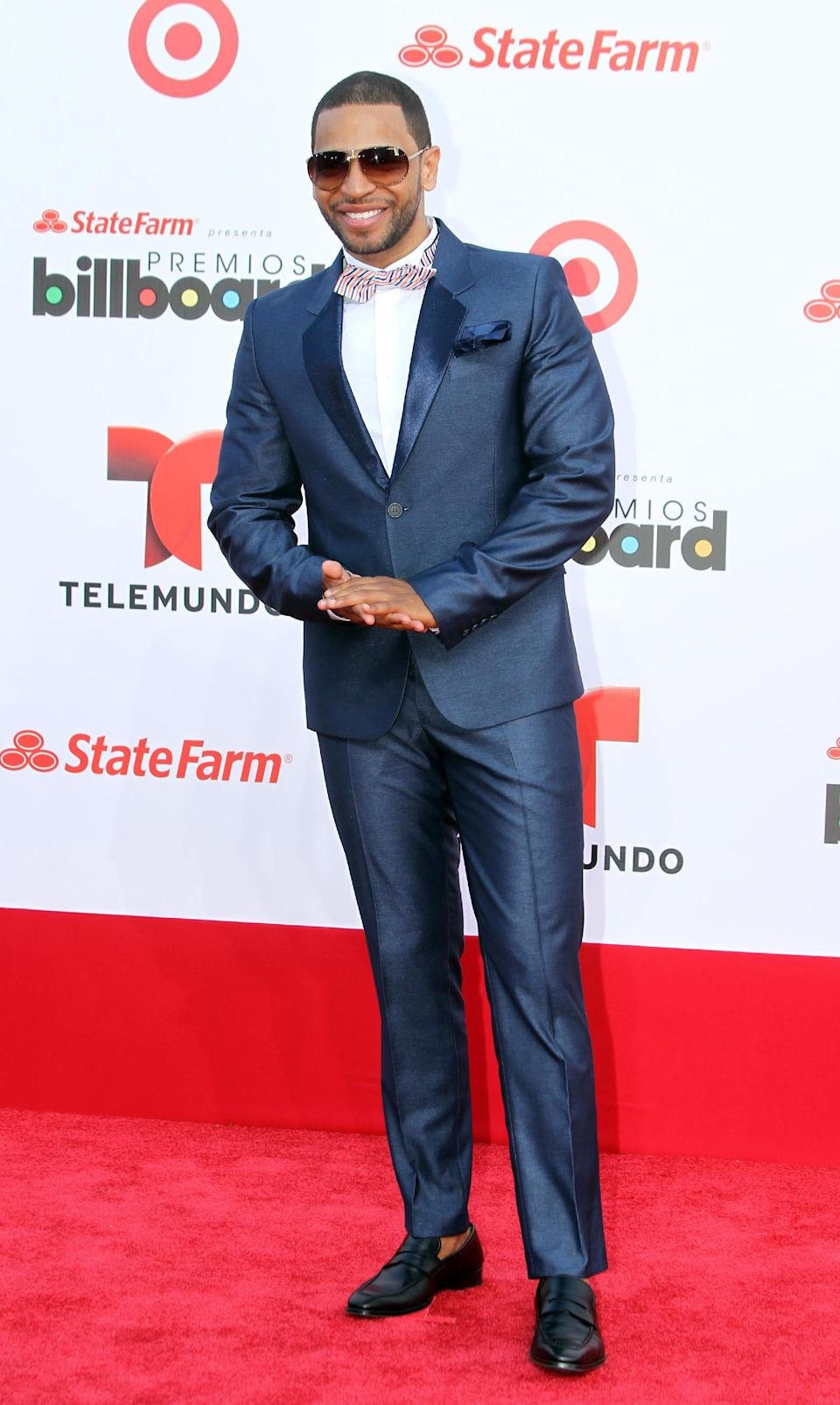 Dominican singer Henry Santos arrives at the Latin Billboard Awards in Coral Gables, Fla. Thursday, April 25, 2013. (Photo by Carlo Allegri/Invision/AP)
