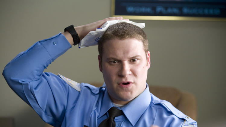 Seth Rogen Observe and Report Production Stills Warner Bros. 2009