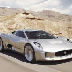 James Bond Spectre villain to drive never-was Jaguar C-X75 supercar