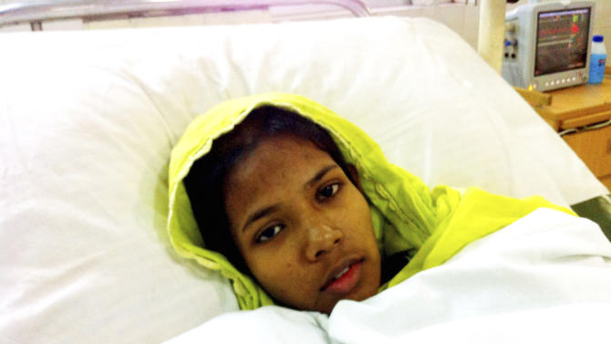 Woman rescued from Bangladesh rubble recovering