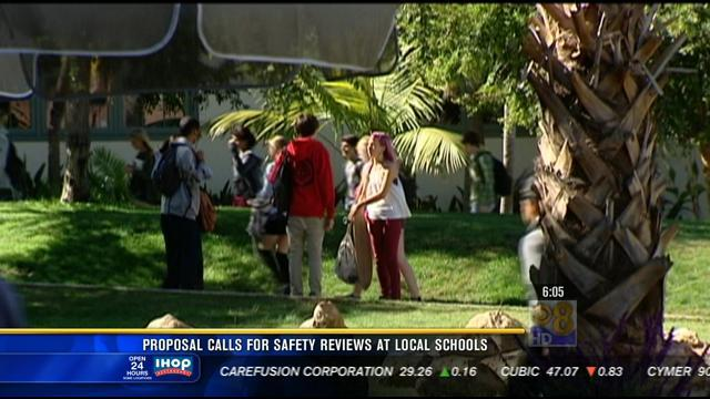Proposal calls for safety reviews at local schools